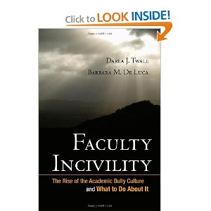 Faculty Incivility Book Cover